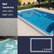 2800 Opal Compact Ceramic IG Pool Package Tenerife Grey