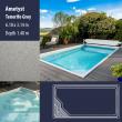 2802 Ametyst Compact Ceramic IG Pool Package Tenerife Grey