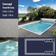 2806 Smaragd Compact Ceramic IG Pool Package Tenerife Grey