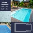 2807 Smaragd Compact Ceramic IG Pool Package Bahama Blue