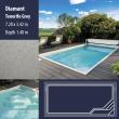 2808 Diamant Compact Ceramic IG Pool Package Tenerife Grey