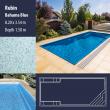 2813 Rubin Compact Ceramic IG Pool Package Bahama Blue