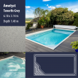 2802 Ametyst Compact Ceramic IG Pool Package Tenerife Grey - 6,18 x 3,14 m x 1,40 m dyb