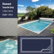 2808 Diamant Compact Ceramic IG Pool Package Tenerife Grey - 7,20 x 3,42 m x 1,40 m dyb