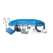 2784 Stål pool - Inground Poolpaket 8,0 x 4,0 x 1,50 m - 38.840 liter